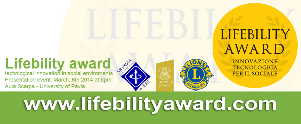 # Lifebility Award by Lions Club