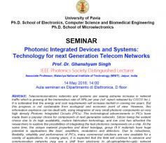 Seminar Singh